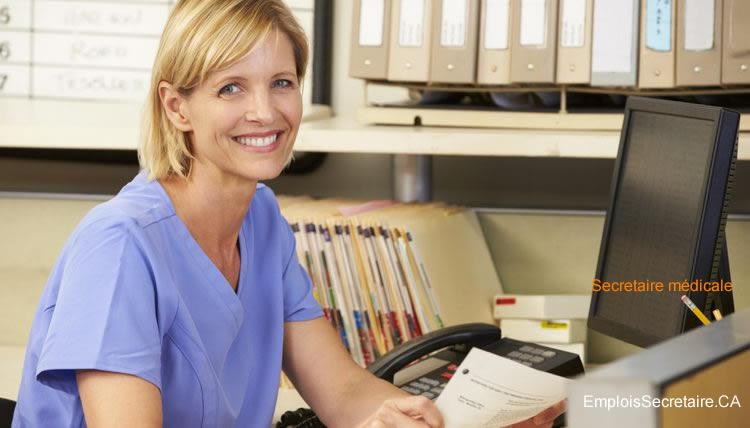 Description de l'emploi de secrétaire médicale