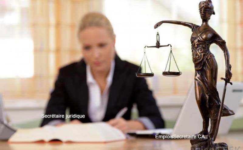 Description de l'emploi de secrétaire juridique