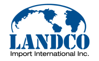 Emplois chez Landco Import International inc.