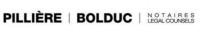 Pillière Bolduc, notaires