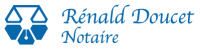 logo Rénald Doucet, notaire